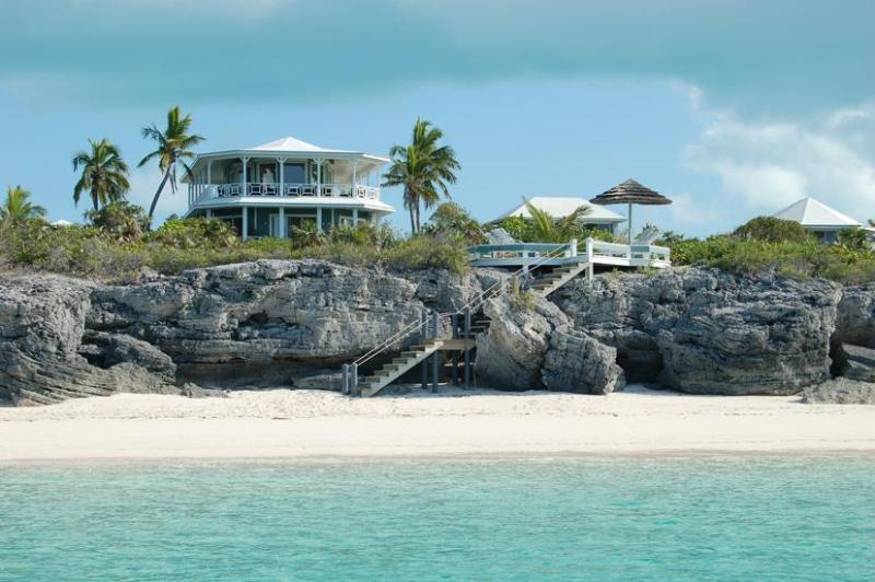 We are ocean front with a private beach - Sugar Beach Villa  Exclusive & Very Private Estate - Salt Pond - rentals