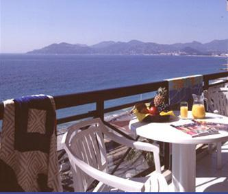 Sea view from balcony - Cannes holiday apartment - Cannes - rentals