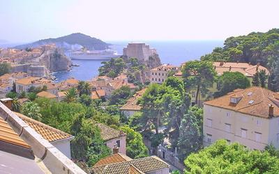 view from AP2 - Apartment Kono AP2 - Studio for 2+2 people - Dubrovnik - rentals