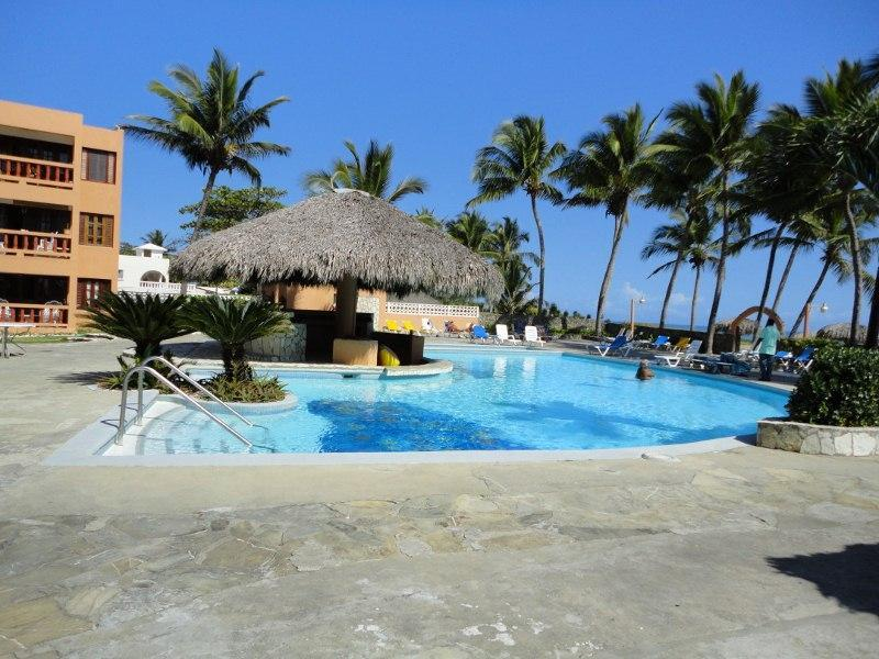 Lounge at the Pool - Caribbean Ocean Front Condo!  Tropical paradise - Cabarete - rentals