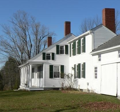 East Wing of main farmhouse - Home-Nest Farm LLC - Fayette - rentals