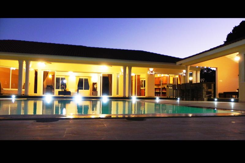 Ultimate Privacy Villa Ultima! Cable TV every bedroom and huge flat screen in Salon. New jacuzzi.(608) - Image 1 - Sosua - rentals