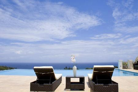 Ocean view Hanover Grange at Tryall Club is fully staffed with infinity edge pool - Image 1 - Montego Bay - rentals