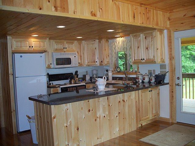 Kozy kitchen - Becks Cabin....a beary nice place to be! - Robbinsville - rentals