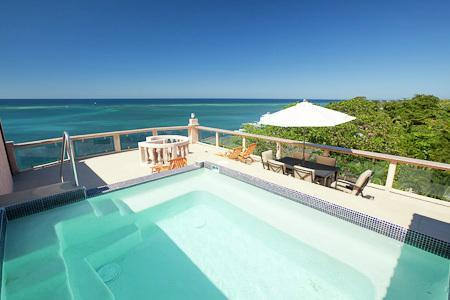 rooftop private pool - Beautiful Luxury Villas - West End Beachfront - West End - rentals