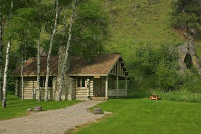 Aspen Cabin at Rye Creek Lodge - Image 1 - Darby - rentals