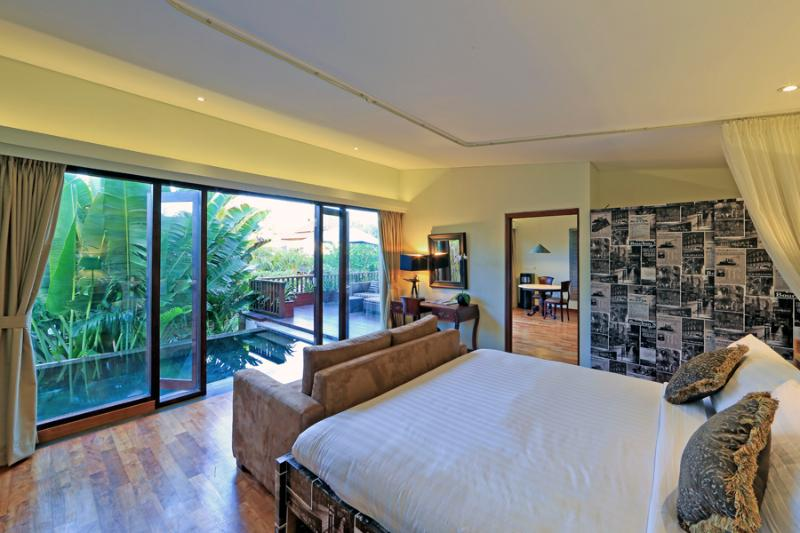 Damou - Bedroom - Damou | Four On Drupadi - Seminyak 1 Bedroom Villa - Seminyak - rentals