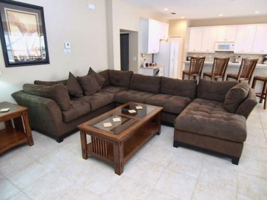 Family Room - WAS5P305OCB 5 BR Holiday Villa near Shops and Dining Options - Davenport - rentals