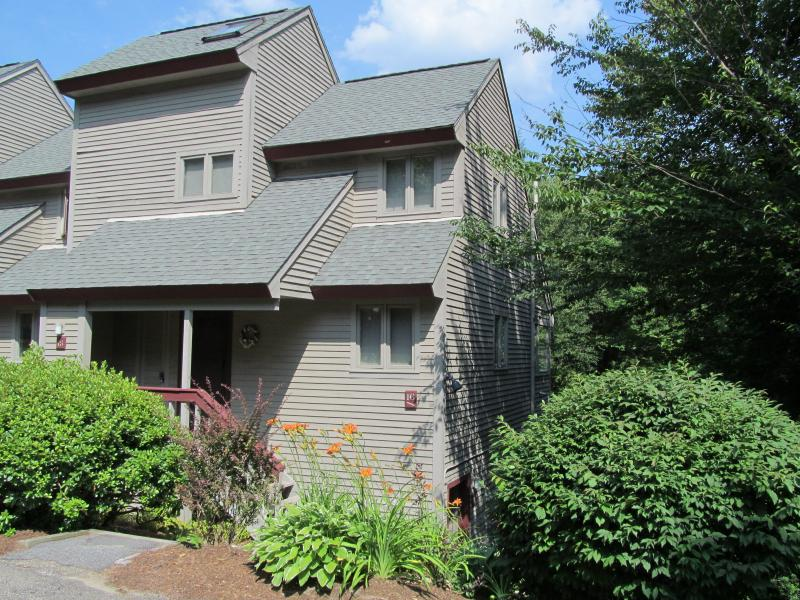 Comfortable Mtn Townhome by Hiking Trail & Brook - Image 1 - Waterville Valley - rentals