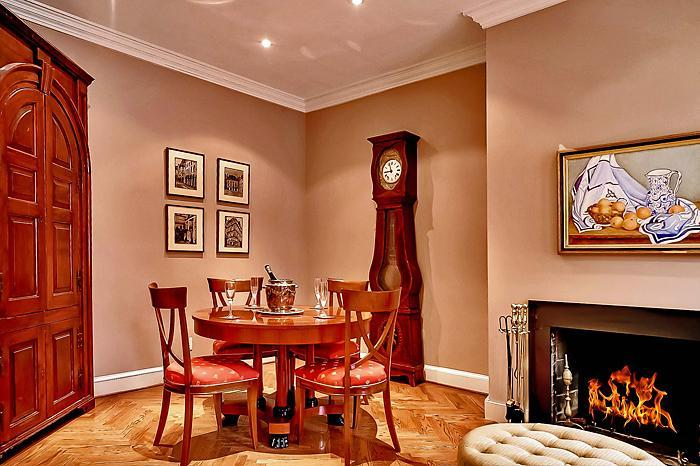 Additional Dining Area off Living Room - Paris Meets Washington DC Capitol Hill's Finest! - Washington DC - rentals