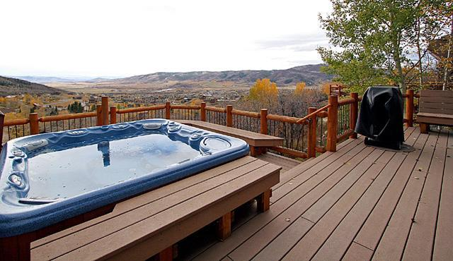 Yampa Vista Chalet - Hot Tub with views - Yampa Vista Chalet - Steamboat Springs - rentals
