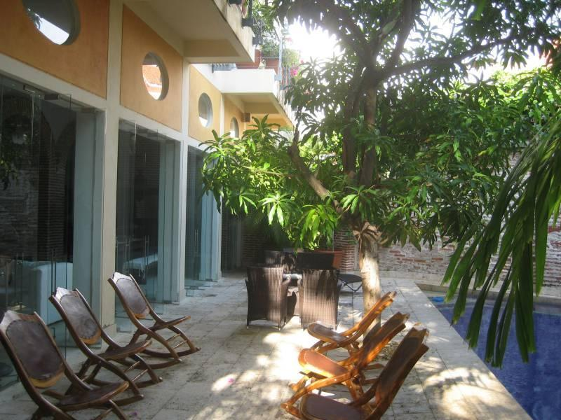 Outdoor area with private pool - Old City 4 Bedroom Masterpiece with private Pool!! - Cartagena - rentals