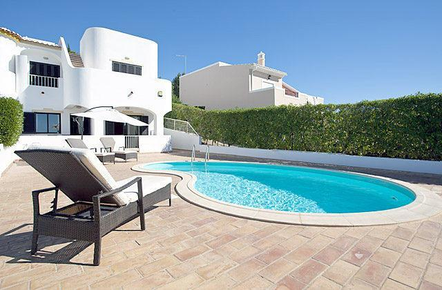 Harry-End Terrace 3 Bed Villa Pool A/C Sea View - Image 1 - Carvoeiro - rentals