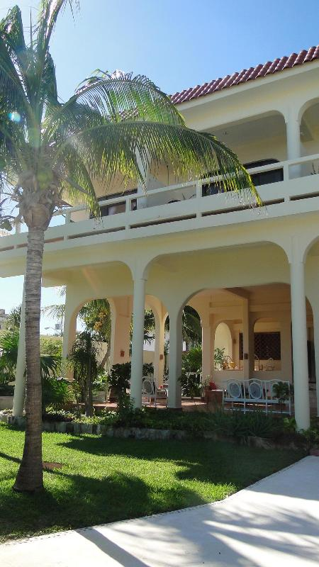 Hacenda style breezy beach house - Casa Caribe Bed and Breakfast at beach in town! - Puerto Morelos - rentals