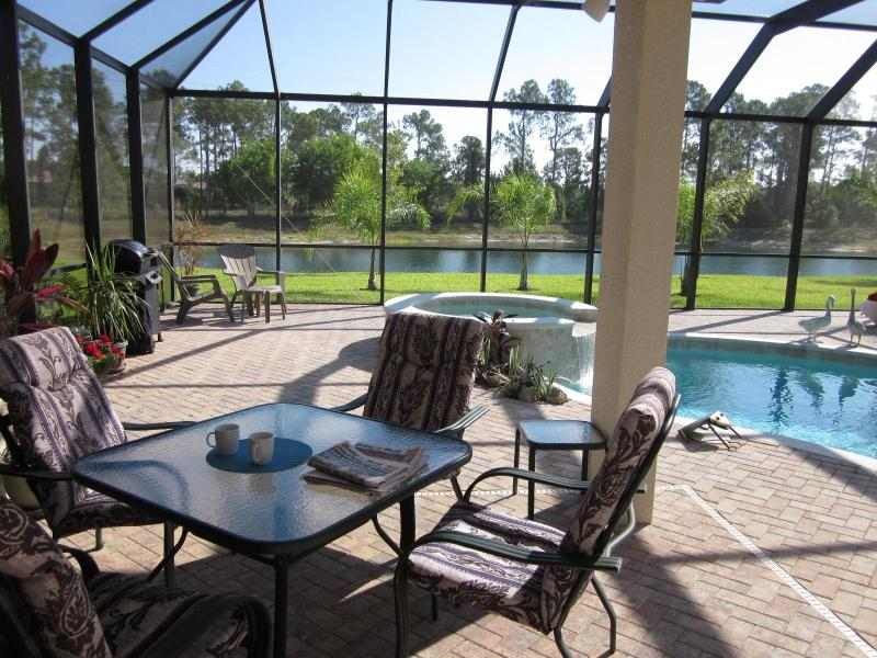 Cabana to lake - HAPPY  THANKSGIVING  IN  LUXURIOUS  LAKESIDE  HOME - Naples - rentals