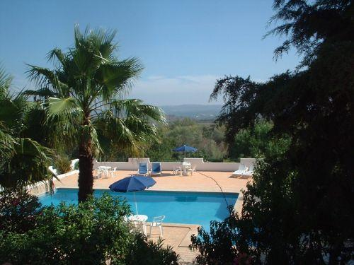 Lovely open country southerly view from one bedroom apartment terrace - Villa Feliz Two Bedroom Apartment 2A - Algarve - rentals