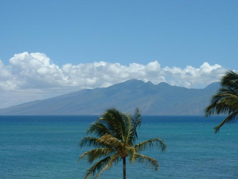 View from lanai - Upgraded 2 bedroom ocean view condo Kahana Sunset - Lahaina - rentals