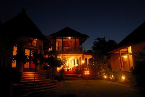 Villa sebali at night - Villa Sebali serene,luxurious 4 bedrooms villa - Ubud - rentals