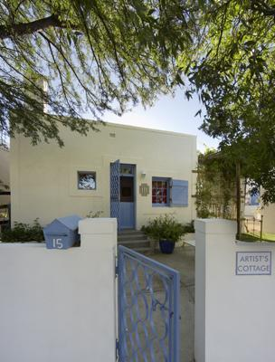 Street entrance with parking - Gorgeous Artist's Cottage, Prince Albert, Karoo - Prince Albert - rentals