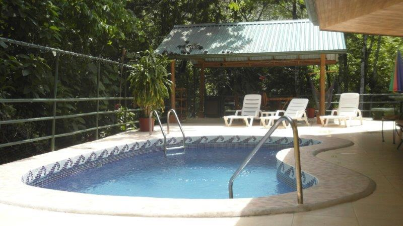 Pool, Rancho, BBQ, Stereo, TV, Hammock Chair, 2 tables, lounge chairs - 2 Bedroom,pool, private deck, WiFi, BBQ,1000 sq/ft - Manuel Antonio - rentals