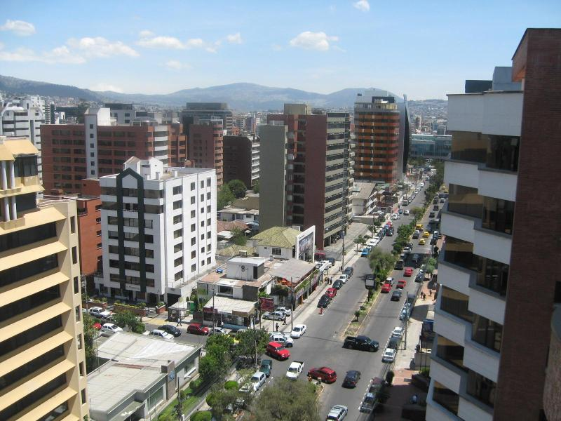 View from Master Bedroom - Furnished 2 BR Condo in Exclusive Section of Quito - Quito - rentals