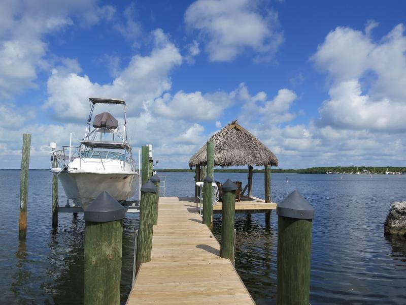 Dock and Chickee - Beautiful House by the Bay - Key Largo - rentals