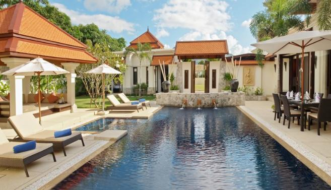 Your private retreat - Child Friendly Villa offers transport and catering - Bang Tao - rentals
