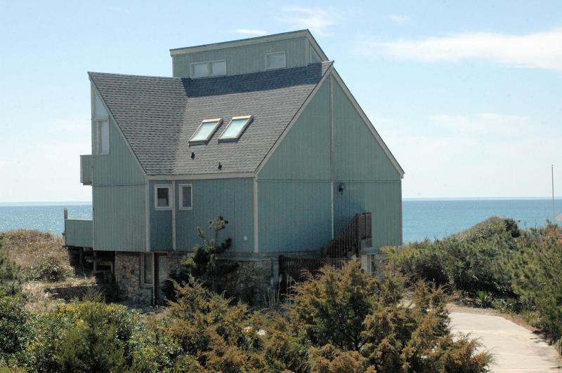"View from Ocean Drive - ""DOWNWIND LEG"" Oceanfront 3 bedrooms/3 baths - Emerald Isle - rentals"