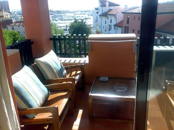 Balcony with marina view - Modern apartment with view of the Vilamoura marina - Vilamoura - rentals