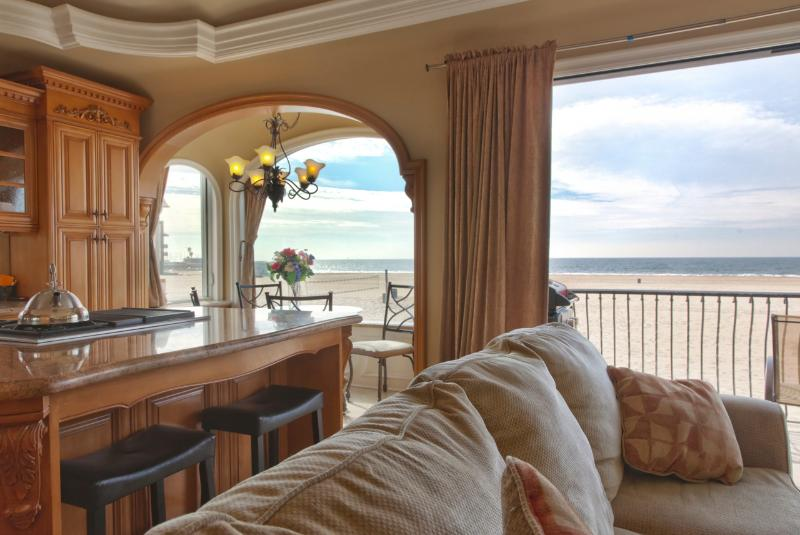 HBA Oceanfront Beach Condo 8 - State of the Art Appliances and Luxurious Decor with Fantastic Views! - Image 1 - Hermosa Beach - rentals