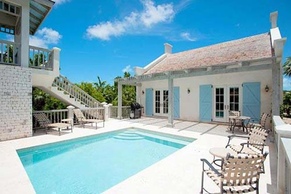 With beach access and a private pool, this villa is also adjacent to a 2-story gazebo, perfect for taking in the ocean views. TNC NUT - Image 1 - Grace Bay - rentals