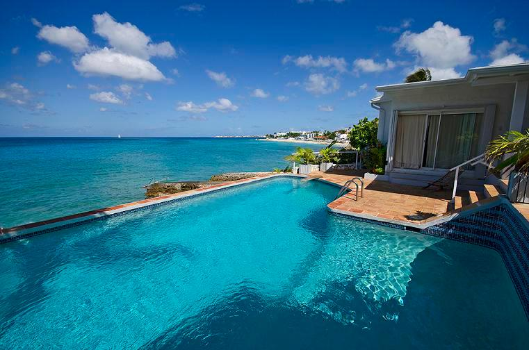 La Calanthe... beachfront in Pelican Key, St Maarten 800 480 8555 - LA CALANTHE...wonderful romantic waterfront villa in Pelican Key, gorgeous views! - Pelican Key - rentals