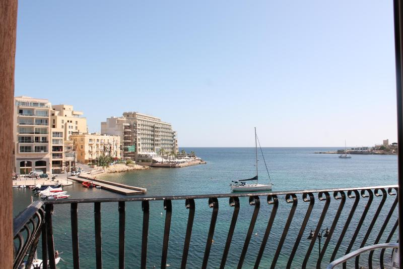 Sea view from Balcony - St Julian's Three Bedroom Seafront Apartment - Saint Julian's - rentals