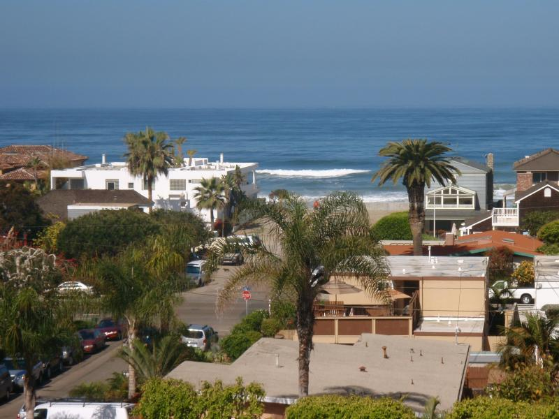 View from the balcony - Walk to the Beach and Ocean View Too! - Del Mar - rentals