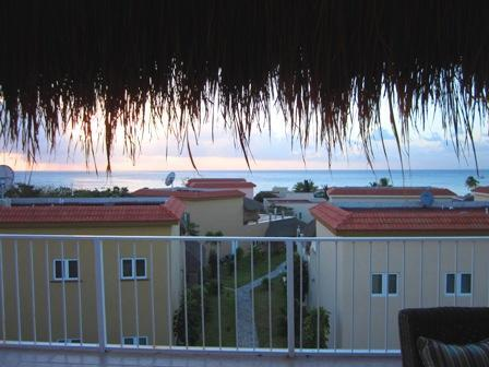 View from your 3rd floor terrace - Casa Dana, Sunsets from your Terrace Lounge - Cozumel - rentals