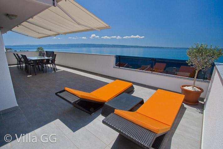 Top Floor / Terrace - Villa GG - Exclusive Croatia holiday experience TF - Split - rentals