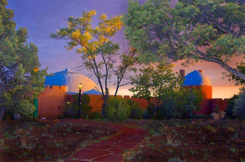 House at Sunset - Rass Mandal - Residence on 10 Acres with Pool - Santa Fe - rentals