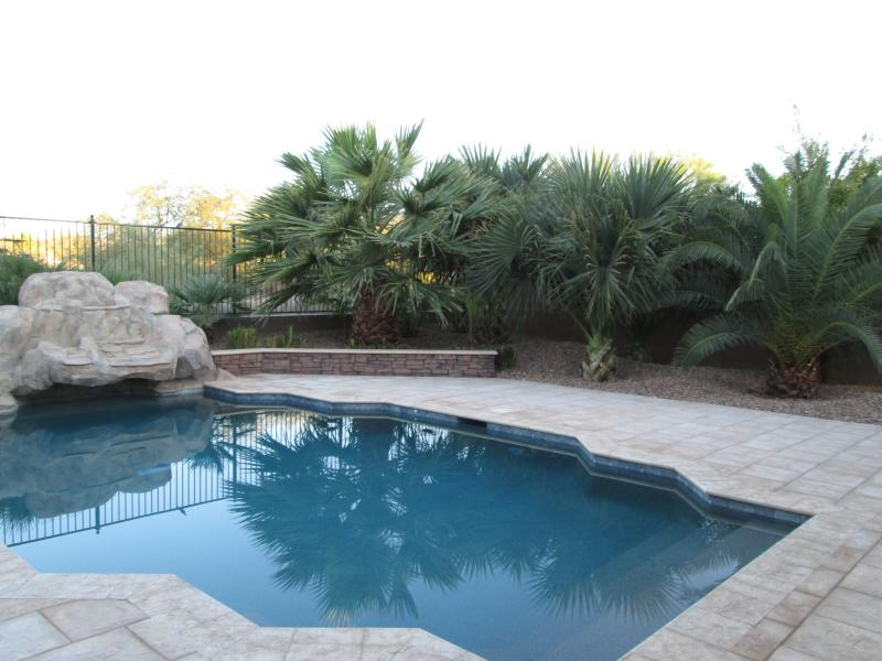 Backyard with Pool - Facing Golf Course - 4 bd house with pool on Aguila Golf Course Phoenix - Phoenix - rentals
