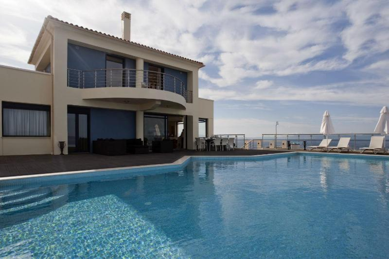 Grace, a luxury seafront villa with sunset views - Image 1 - Akrotiri - rentals