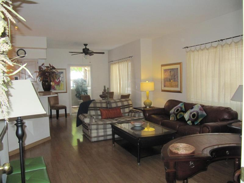 Living & Dining Rooms - Executive Fully Furnished 2BR2BA Condo - Henderson - rentals