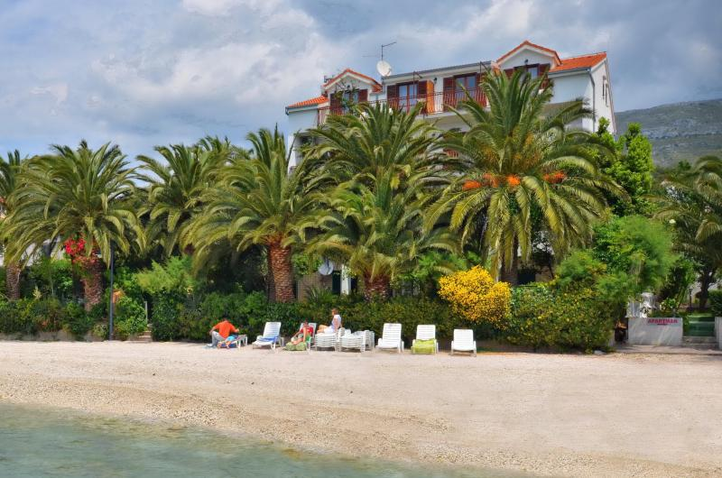 Villa-view from the sea - VILLA PALMS-Amazing beach accommodation 4-20 - Split - rentals