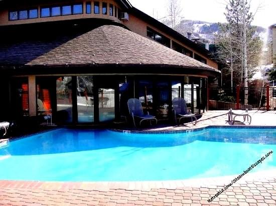 Great  outside pool for everyones enjoyment - Trappeurs Lodge 1101 - Steamboat Springs - rentals