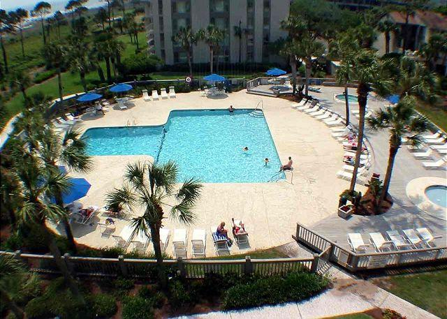 Shorewood Pool for SH501 - Shorewood 501 - Oceanfront 5th Floor Penthouse - Hilton Head - rentals