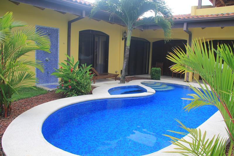 Private Pool area - EcoVida Casa Famosa with Pool at Playa Bejuco - Playa Bejuco - rentals