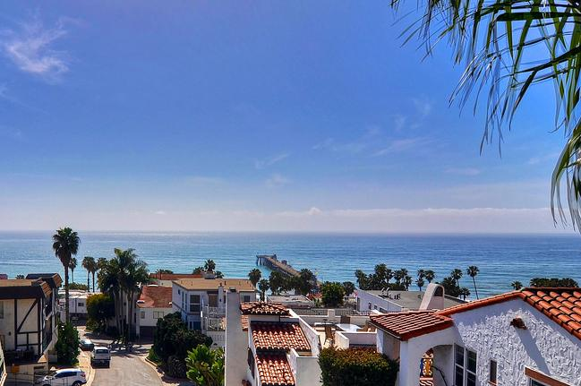 Incredible ocean and pier views from top deck - Fall special!! Ocean views, steps to San Clemente Beach / Pier! - San Clemente - rentals
