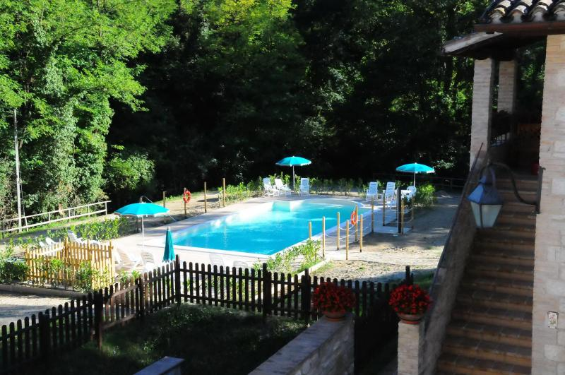 Swimming-pool - 6-12 meters - Holiday homes  in the green hills of Umbria - Gubbio - rentals