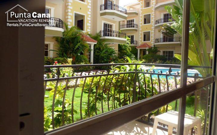Outside balcony - NEAR everything, Conveniently located-1BDR CONDO - Punta Cana - rentals