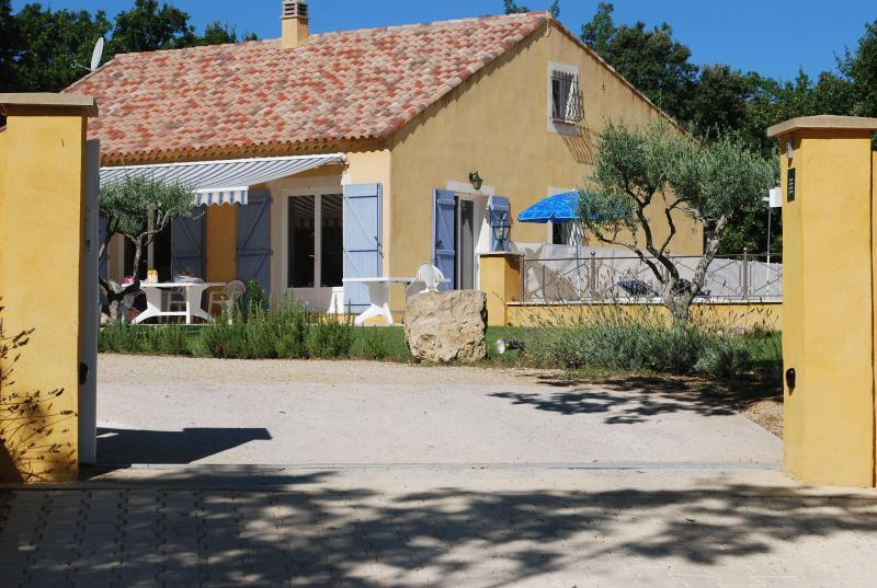 Entrance - Beautifull House with Pool 8 pers in the Verdon - Artignosc-sur-Verdon - rentals
