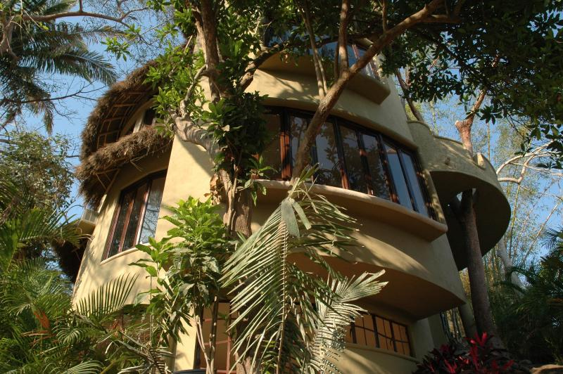 Casa Maravilla-Hidden Jewel in an Enchanted Setting -Ocean/Jungle Views-Sayulita, Mexico - Image 1 - Sayulita - rentals