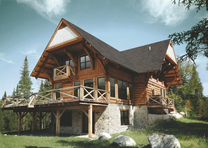 5 bedroom luxury log home - Luxurious 5br Log Home At Côté Nord Tremblant - Lac-Superieur - rentals
